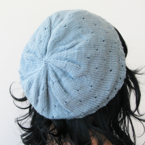 mirri hat blue