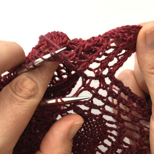 Tutorial : Grafting Lace