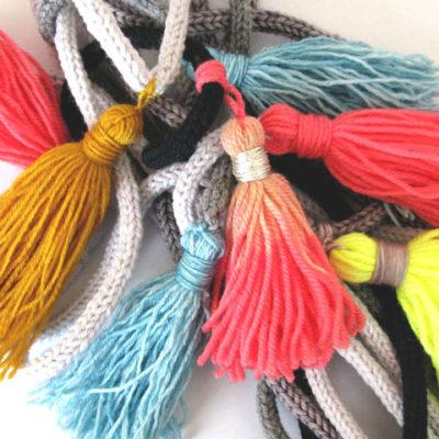 Tutorial : Make a yarn Tassel