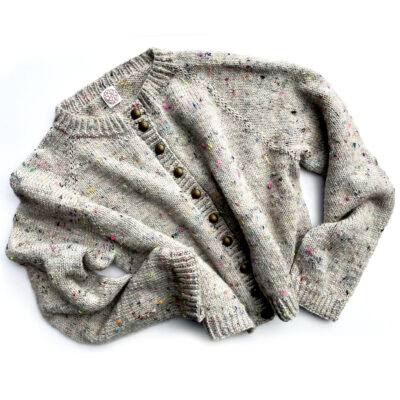 Tutorial : Knit a top down sweater